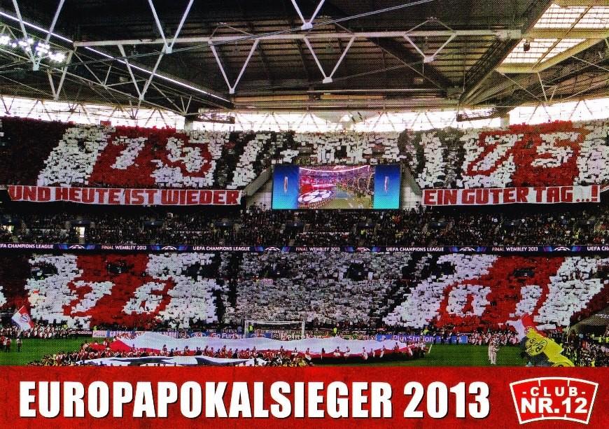 "Postkarte ""Europapokalsieger 2013"""