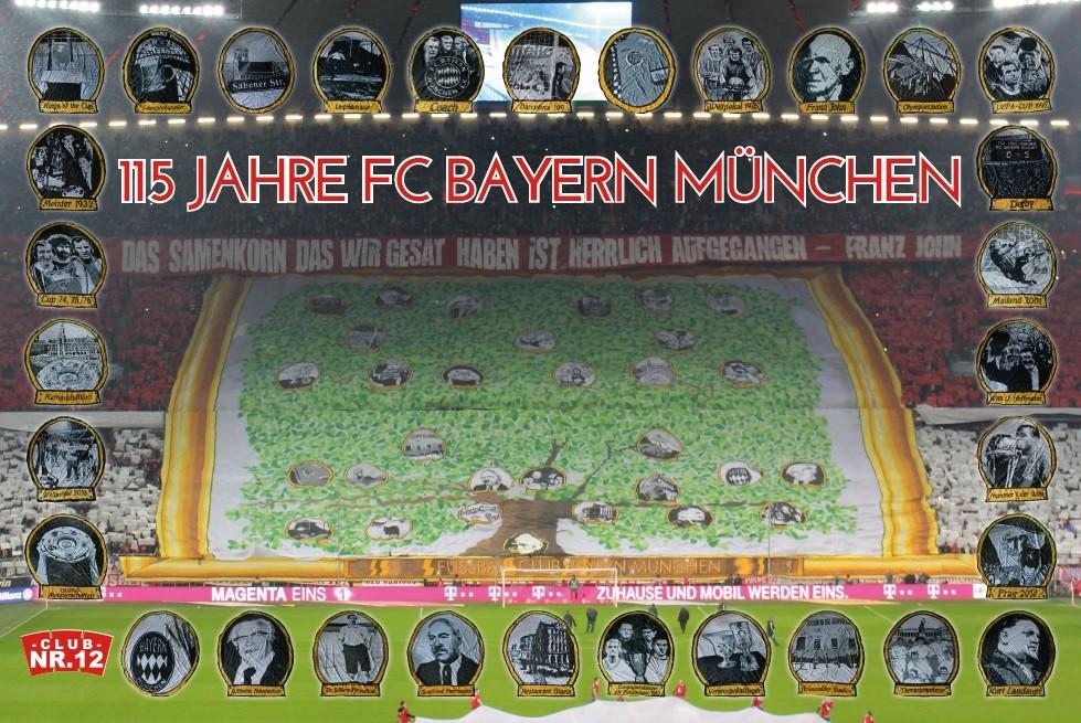 115 Jahre FC Bayern