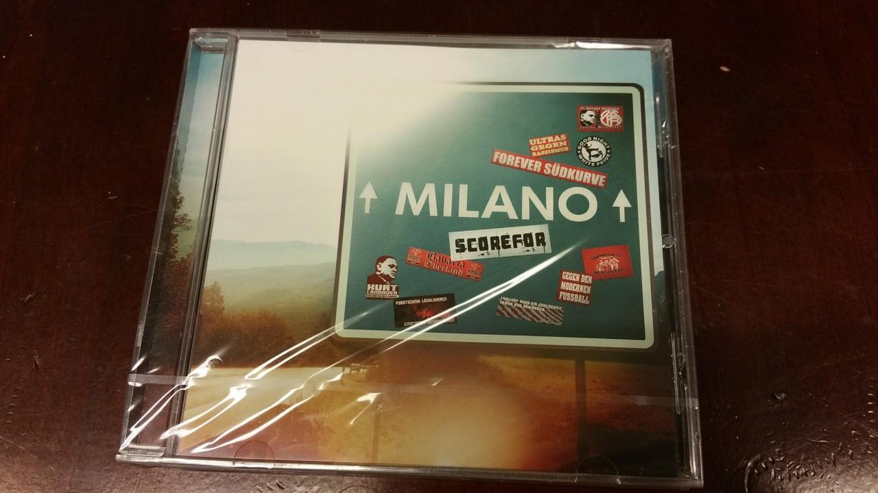 CD, Scorefor - Milano
